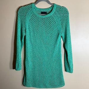 Wilfred Free Green Knit Long Sleeved Top